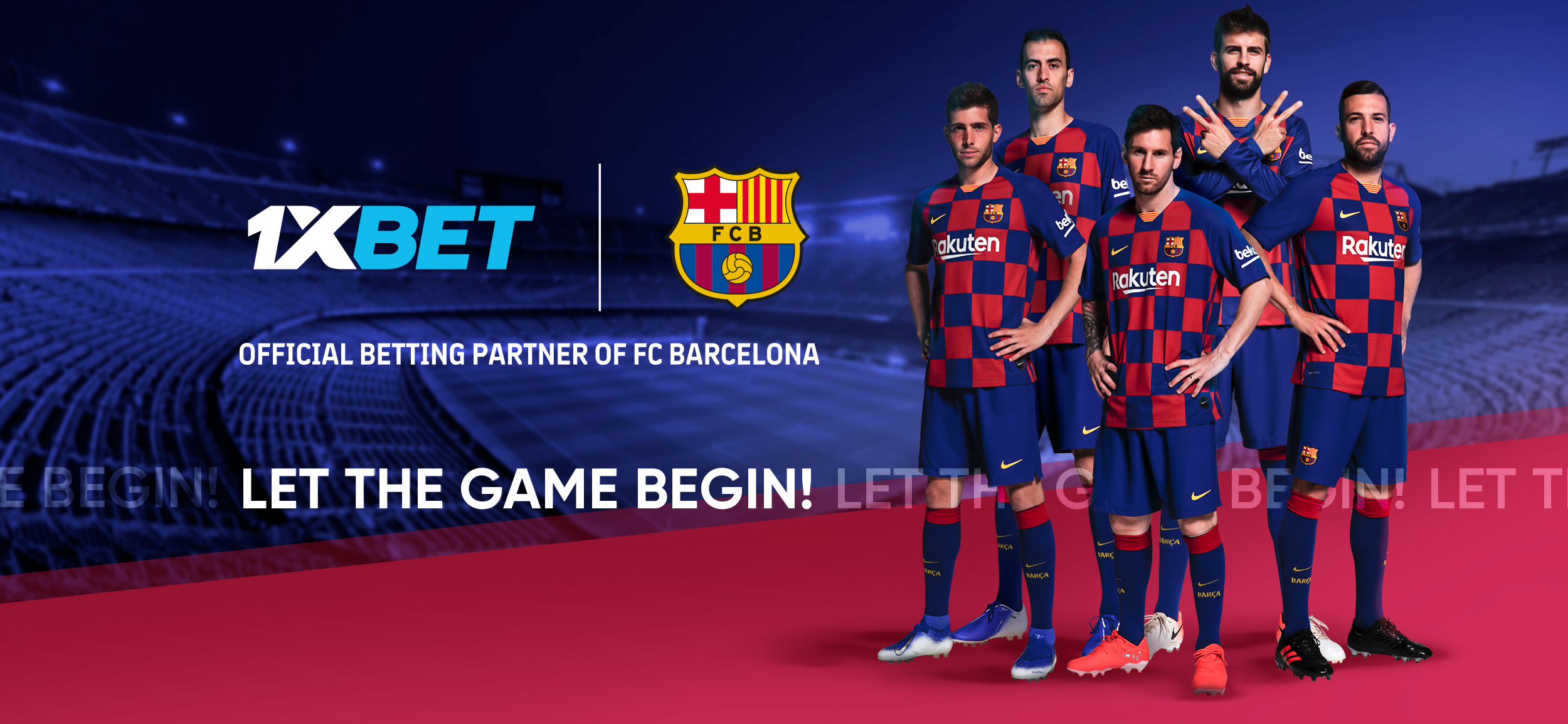 1xBet becomes a global partner of FC Barcelona
