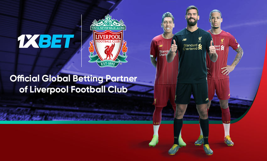 1xBet joins forces with Liverpool FC!